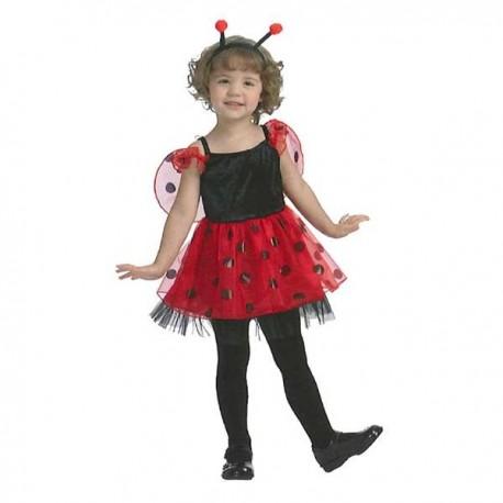 Disfraz Mariquita presumida (1-2 años)