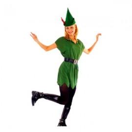 Disfraz de Peter Pan para Mujer