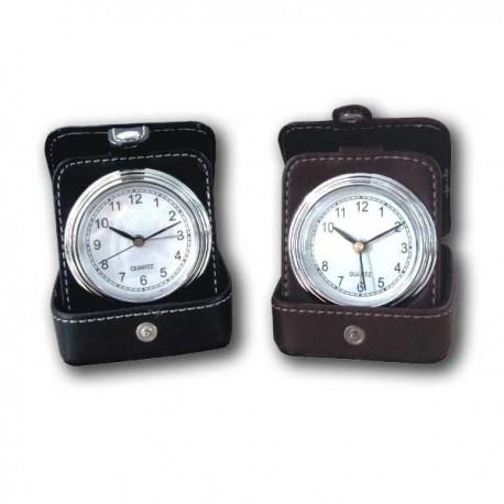 Reloj piel viaje
