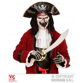 Mascara de Pirata Fantasma para Niños.