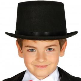 Sombrero de copa fieltro Infantil