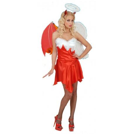 Disfraz angel demonio
