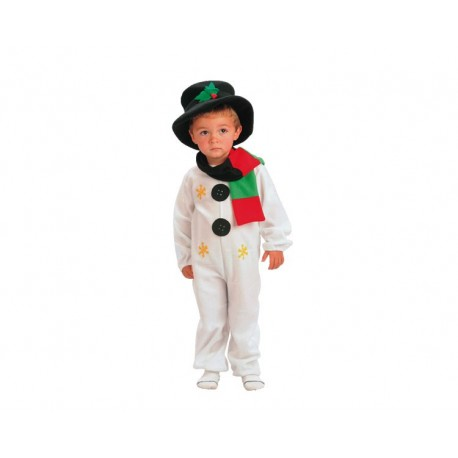 Disfraz muñeco de Nieve(2-4 años)