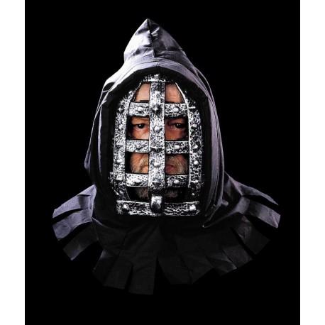 Máscara de Hierro con capucha