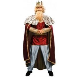 Disfraz de Rey Mago Melchor Granate