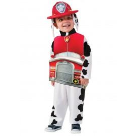 disfraz de marshall patrulla canina deluxe para nio