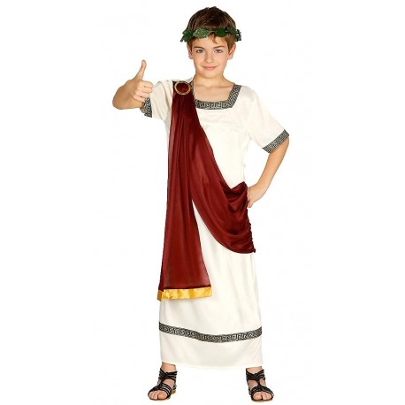Disfraz emperador Romano niño
