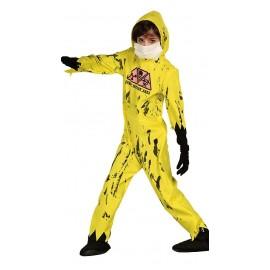 Disfraz de Mono contra Epidemia Nuclear para niños.