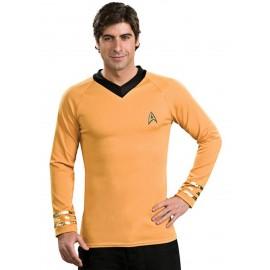 disfraz de star trek capitn kirk clsico dorado