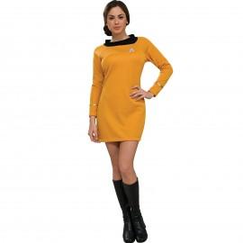 disfraz de star trek clsico dorado para mujer