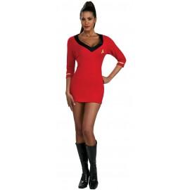 disfraz de uhura star trek sexy para mujer