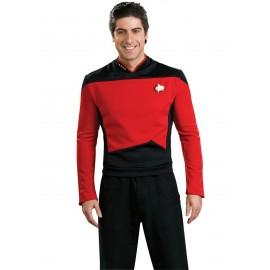 disfraz de comandante rojo star trek la nueva generacin para hombre