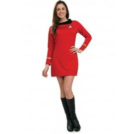 disfraz de uhura star trek classic para mujer