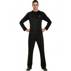 disfraz del uniforme off duty star trek para hombre