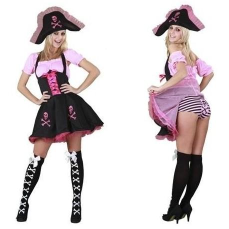 Disfraz de pirata divertida