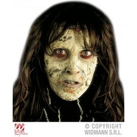 Maquillaje Efecto Piel Quemada Terrorífica.
