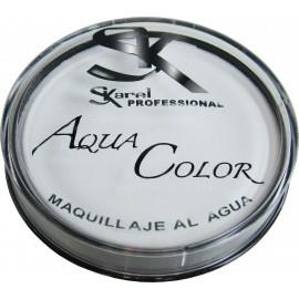 Maquillaje Al Agua Profesional Color Blanco