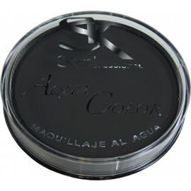 Maquillaje Al Agua Profesional Color Negro.