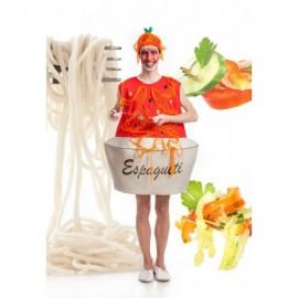 Disfraz de Plato de Espaguetis
