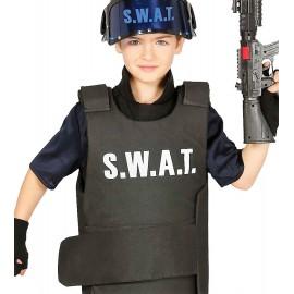Chaleco Antibalas SWAT para niños.