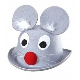 Sombrero Casquete de Raton de Fieltro
