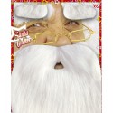 Set barba cejas Santa Claus