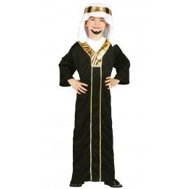 Disfraz de Jeque Arabe para niños