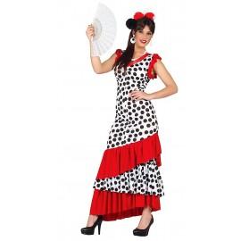 Disfraz de Sevillana Flamenca Mujer