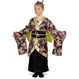 Disfraz Geisha Estampada
