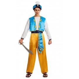 Disfraz de Aladino Arabe para hombre.
