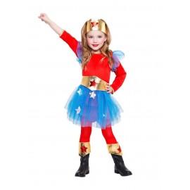 Disfraz de Superheroe para niña