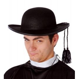 Sombrero de Cura Fieltro para disfraces