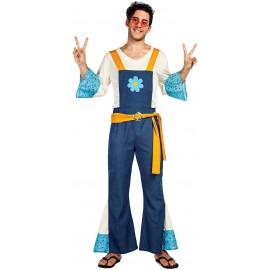 Disfraz de Hippie Flor para Hombre.