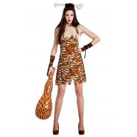 Disfraz de Troglodita Cavernicola para Mujer