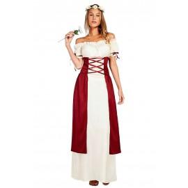 Disfraz de Dama Princesa Medieval