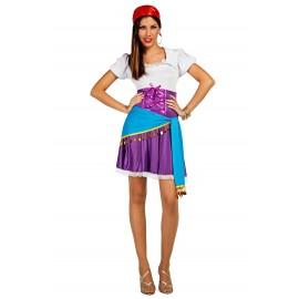 Disfraz de Zingara Gitana para Mujer