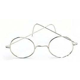 Gafas de Metal Ovaladas Estilo Harry Potter