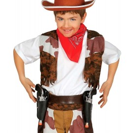 Pistolas de Vaquero con Cartuchera para niños