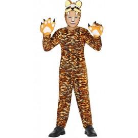 Disfraz de Tigre para niños.