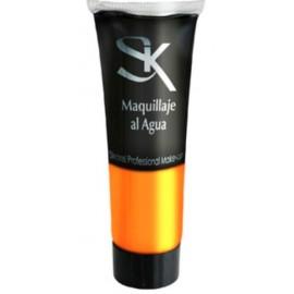Tubo de Maquillaje Profesional Al Agua Fluido Color Naranja