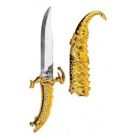 Espada Arabe Dorada con Funda