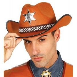Sombrero de Vaquero Sheriff para Hombre