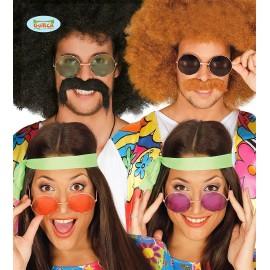 Gafas de Hippie Grandes en Colores Surtidos