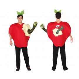 Disfraz de Manzana para Hombre