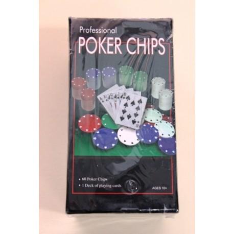 Set Fichas Baraja Poker