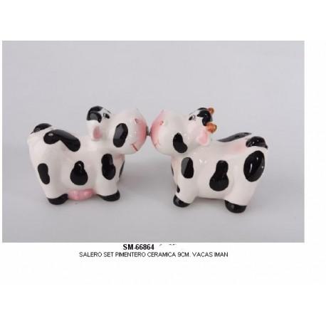 Salero Pimentero Vacas