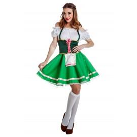 Disfraz de Tirolesa para Mujer.