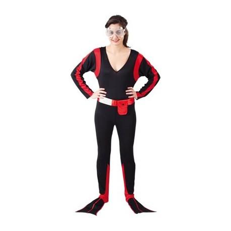 Disfraz Submarinista Mujer