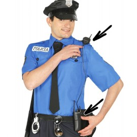 Intercomunicador Policia
