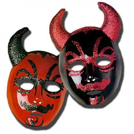 Máscara Diablo plástico